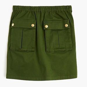 Jcrew front pocket mini skirt